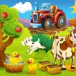 On farm — Stock Photo #12077810