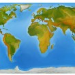 Map of the world — Stock Photo #12078510