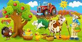 On the farm — Stock Photo