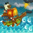 Pirate ship — Stock Photo #12134609