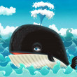 Foto de Stock  : Cartoon whale