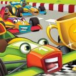 Постер, плакат: The formula race