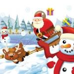 The christmas gang — Stock Photo #12219425