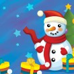 The christmas snowman — Stock Photo #12221308