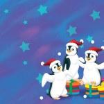クリスマス ギャング — ストック写真