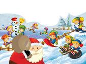 The presentation of christmas — Stock Photo