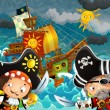 The pirates — Stock Photo #12287282