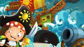 The pirates — Stock Photo