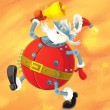 The christmas santa claus — Stock Photo #12888585
