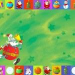 de kerstkaart — Stockfoto #12905840
