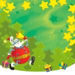 de kerstkaart — Stockfoto #13090206