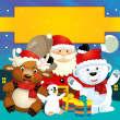 The christmas friends — Stock Photo #13805042