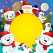 The christmas friends — Stock Photo #13805070