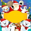 The christmas friends — Stock Photo #13805088