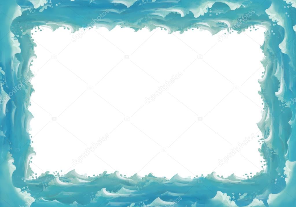 clairev  帧与卡通红色车 clairev  帧与各种海洋动物 clairev  卡通