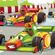 Formula race — Stock Photo