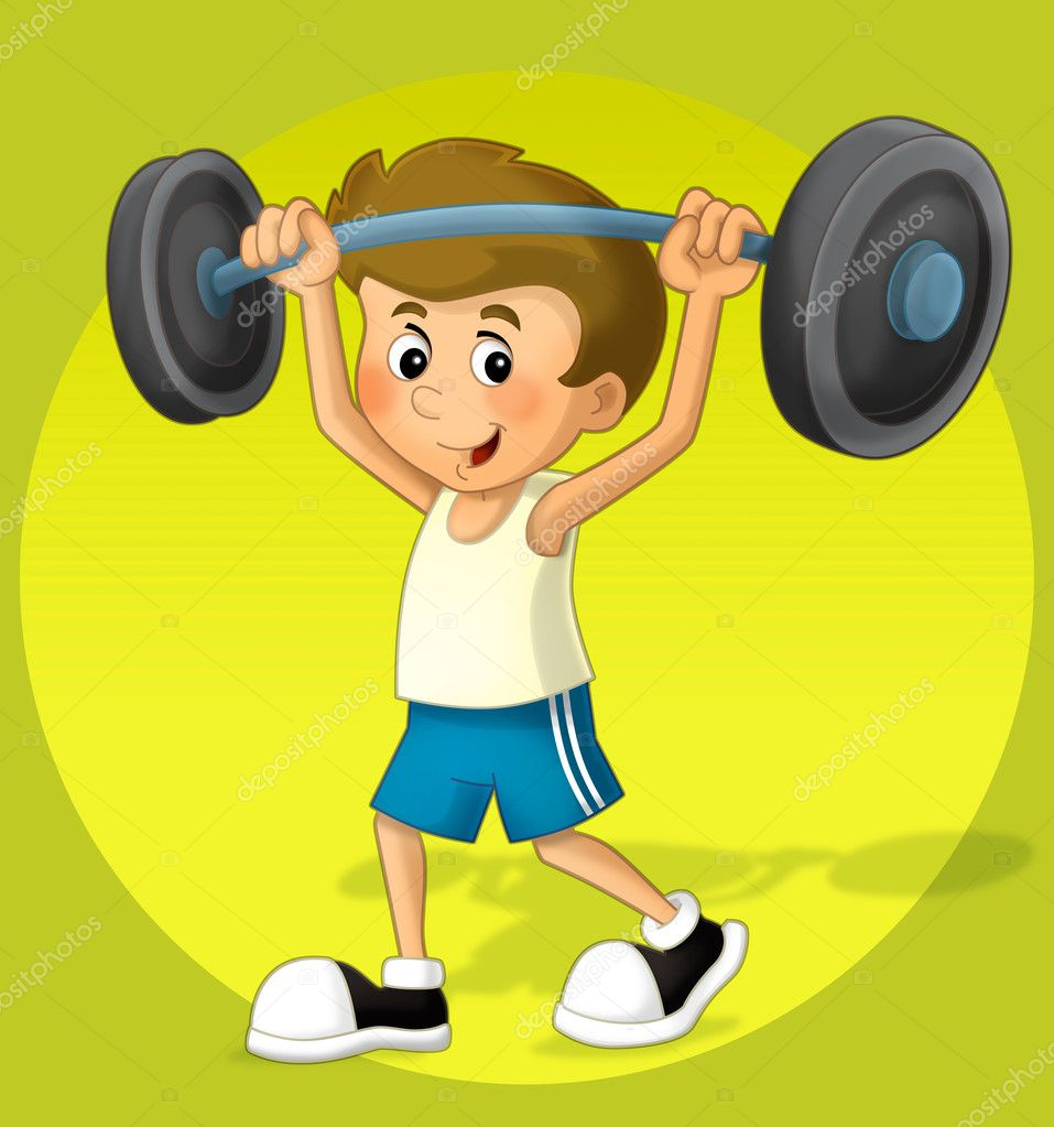 Adolescentes adolescente con mancuernas para ejercicio - 2 6