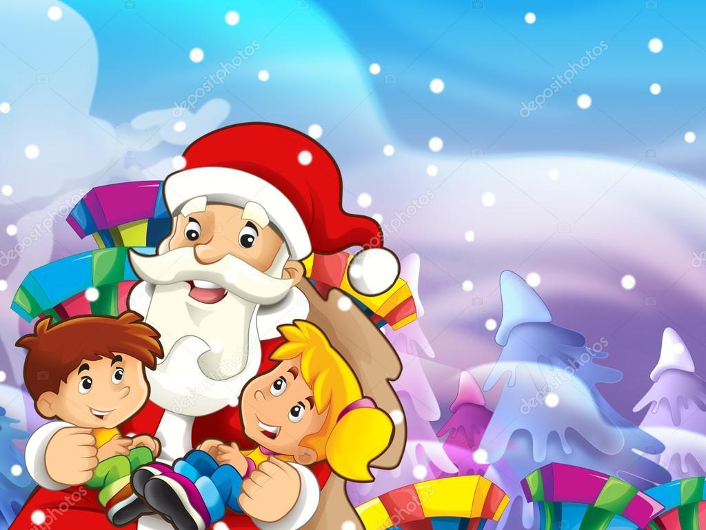 圣诞帮会-儿童搞笑图