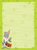 O coelho de páscoa feliz — Foto Stock