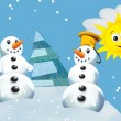 Snowmen — Stock Photo #20275613