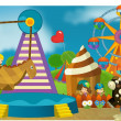 The funfair - playground — Stock Photo
