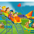Stock Photo: Funfair - playground