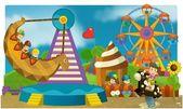 The funfair - playground — Stock Photo
