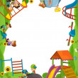 Funfair - playground - framing for misc usage — Stock Photo #21788709