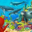 The coral reef - Stock Photo