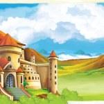 el castillo — Foto de Stock