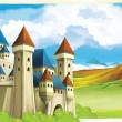 The castle — Stock Photo