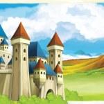 o castelo — Foto Stock