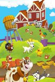 The life on the farm — Stock fotografie
