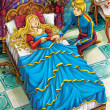 The sleeping beauty - Prince or princess - castles - knights and fairies - illustration for the children — Stock Photo