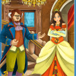 "Stock Photo: Fairy-tale characters - ""Beauty and Beast"""