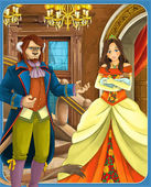 """Fairy-tale characters - """"Beauty and the Beast"""" — Stock Photo"""