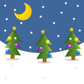 The christmas background - winter — Stock Photo