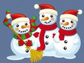 Christmas bunch — Stock Photo