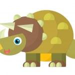 Cartoon animal - coloring page — Stock Photo #35001329