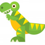 Cartoon animal - coloring page — Stock Photo #35001345