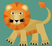 Tecknade vilda djur — Stockfoto