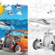 Cartoon vehicle — Stock Photo #38312629