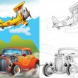Cartoon vehicle — Stock Photo #38312997
