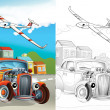 Cartoon vehicle — Stock Photo #38313019