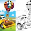 Cartoon vehicle — Stock Photo #38313057