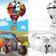 Cartoon vehicle — Stock Photo #38313069