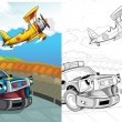 Cartoon vehicle — Stock Photo #38313089