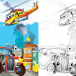 Cartoon vehicle — Stock Photo #38313141