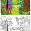 ������, ������: Cartoon fairy tale