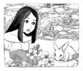 Cartoon fairy tale — Stock Photo
